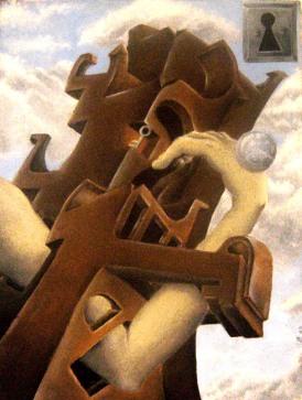 Busca - 2006 - 30X40cm - óleo sobre tela