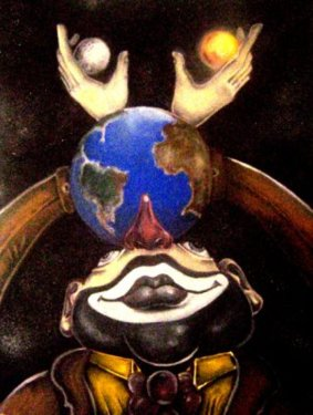 Giramundo - 2007- 40x50cm - óleo sobre tela